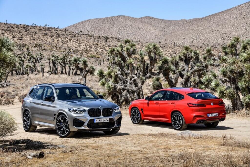 Los BMW X3 M y X4 M son los nuevos SUV deportivos bávaros