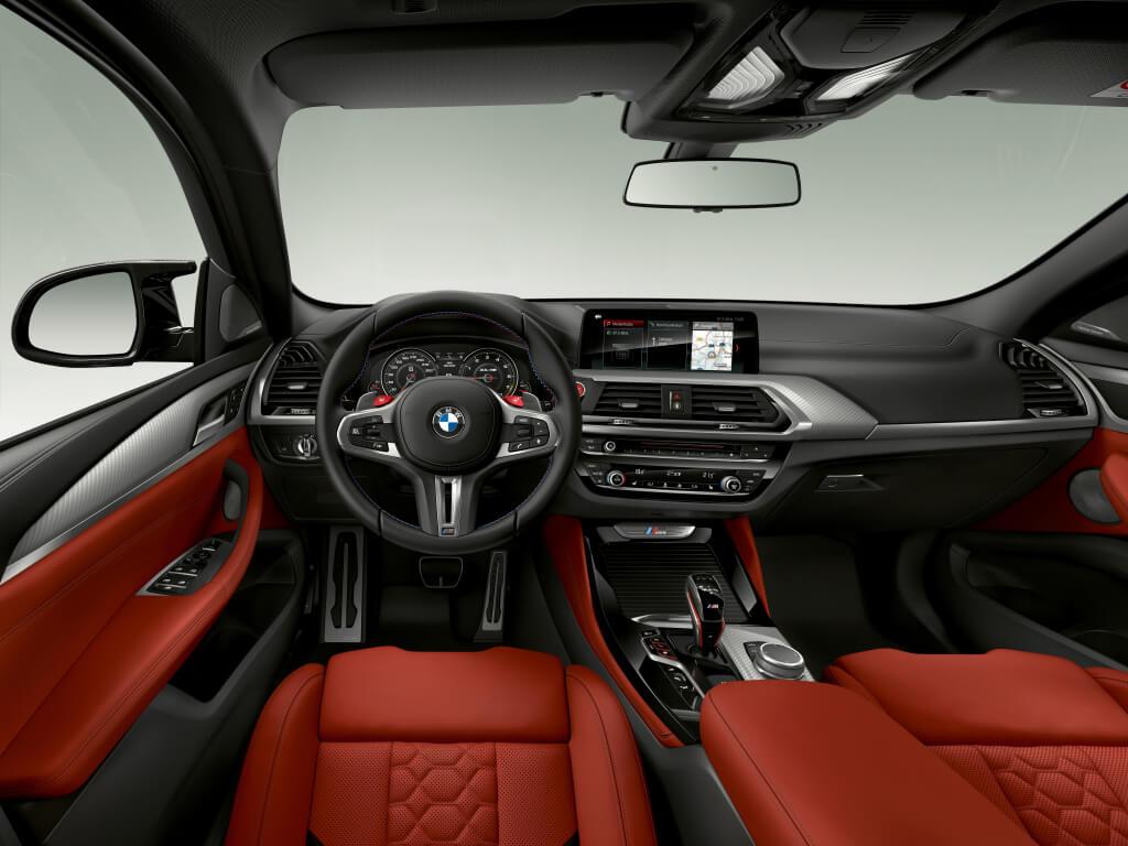 Habitáculo del BMW X4 M.