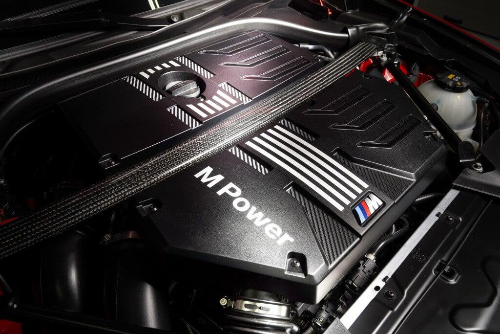 Motor de los BMW X3 M y X4 M.