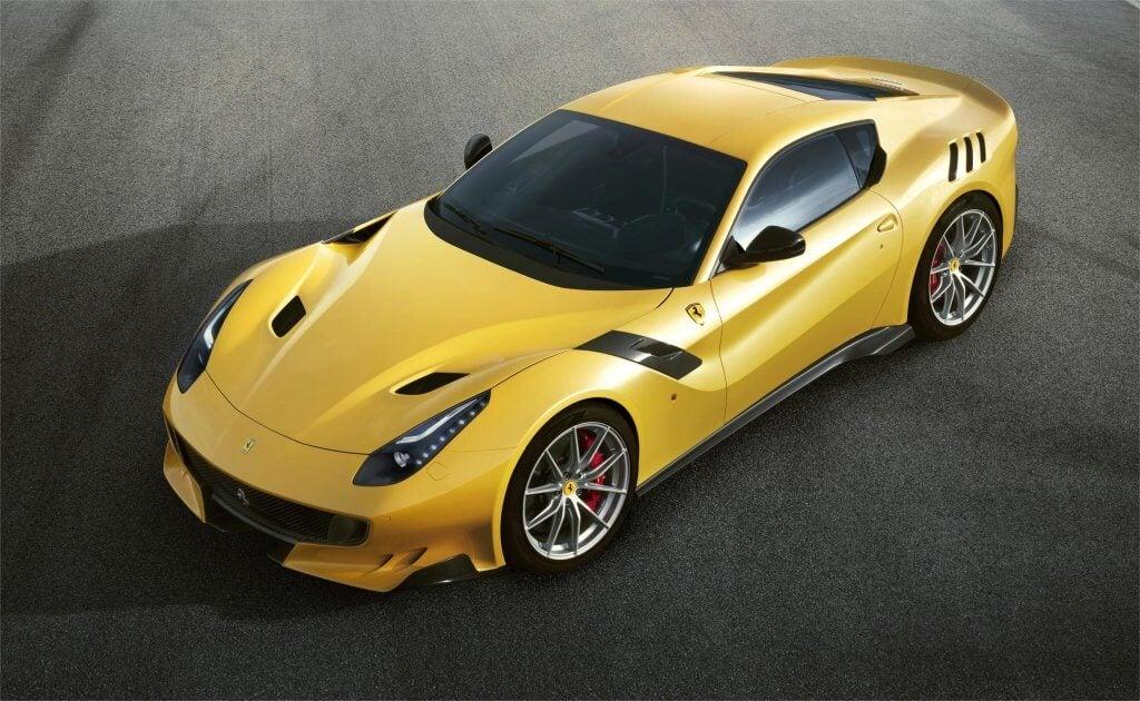 Ferrari F12 TDF: homenaje al 250 GT Berlinetta, tetracampeón del Tour de France