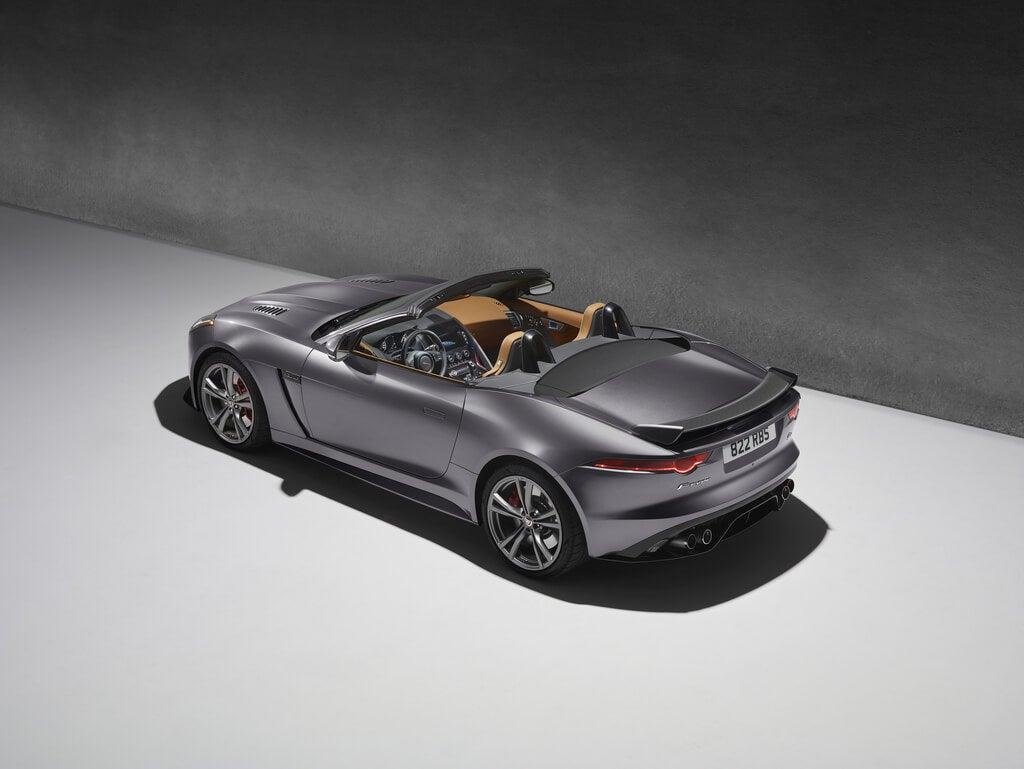 Jaguar F-Type SVR Convertible: trasera