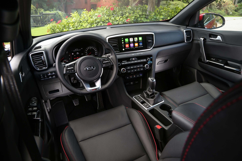 Kia Sportage 2019: interior