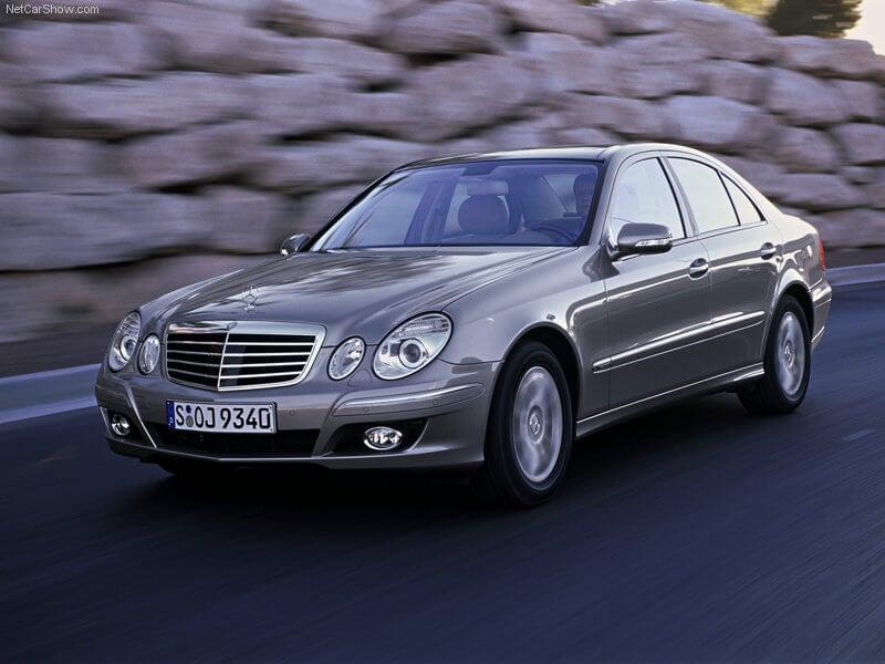 Mercedes Clase E del año 2007.