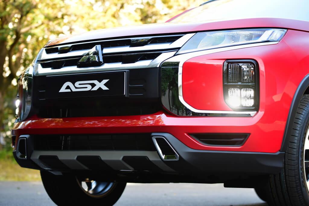 Mitsubishi ASX 2019: detalle de la parrilla.