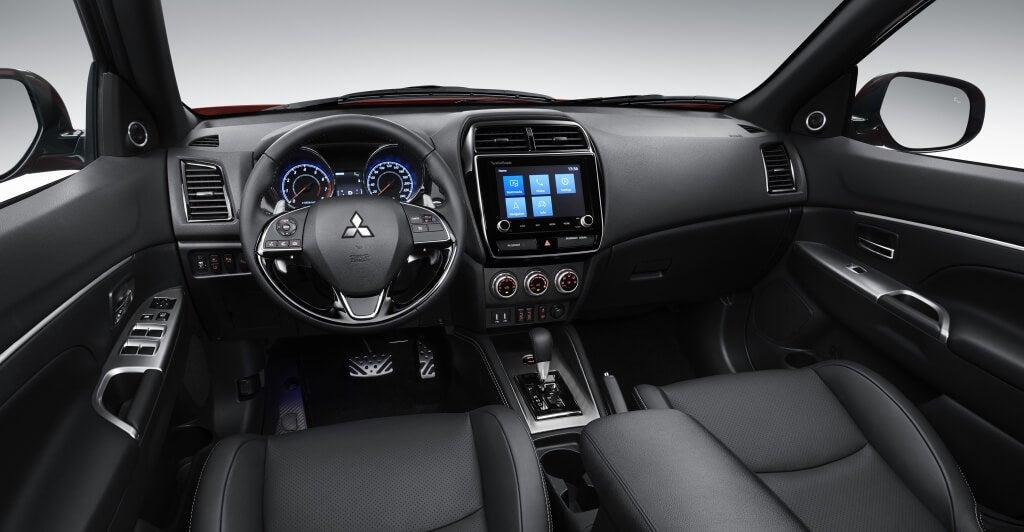 Habitáculo del Mitsubishi ASX 2019.