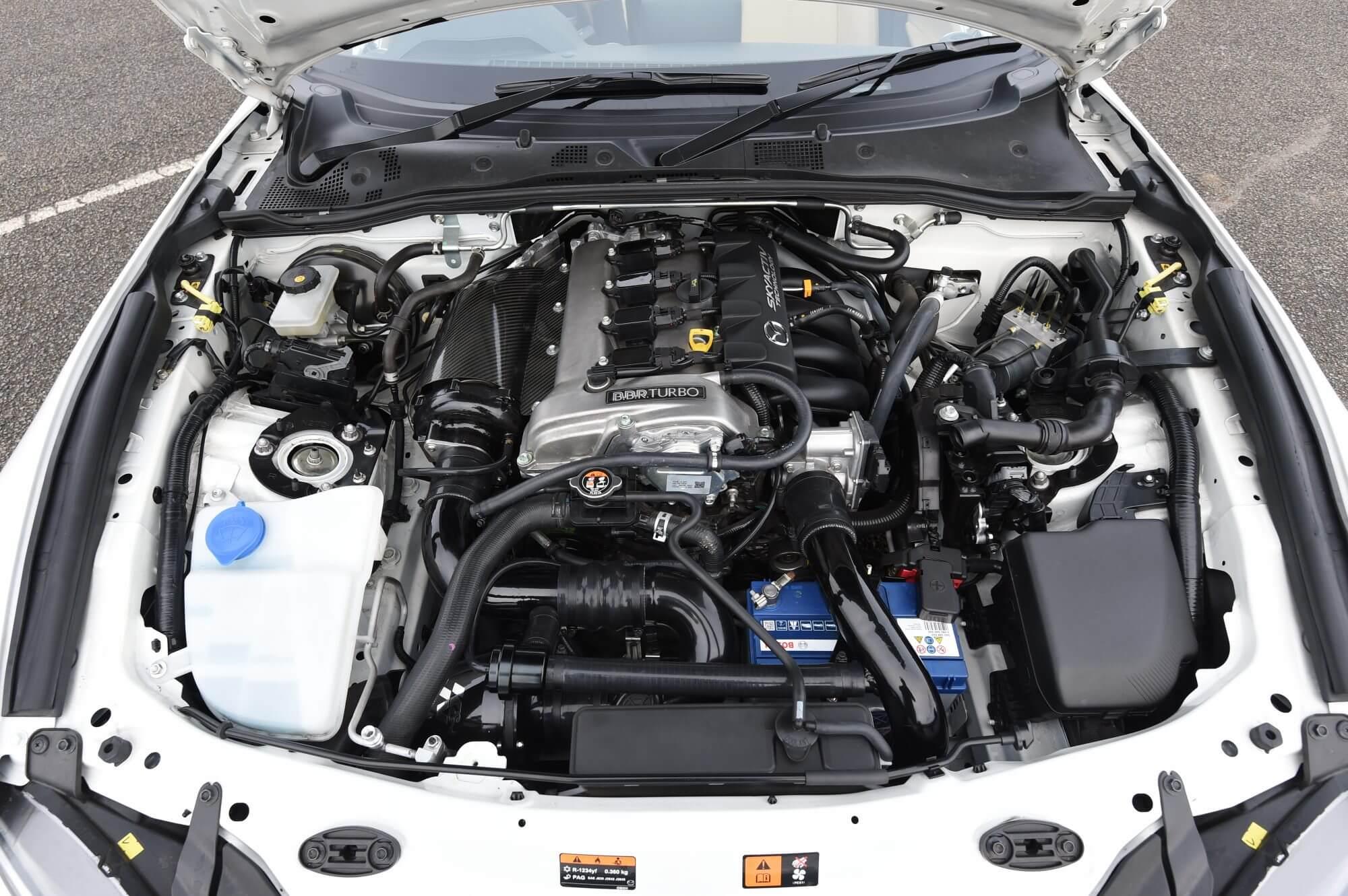 Motor del Mazda MX-5 1.5 BBR Turbo