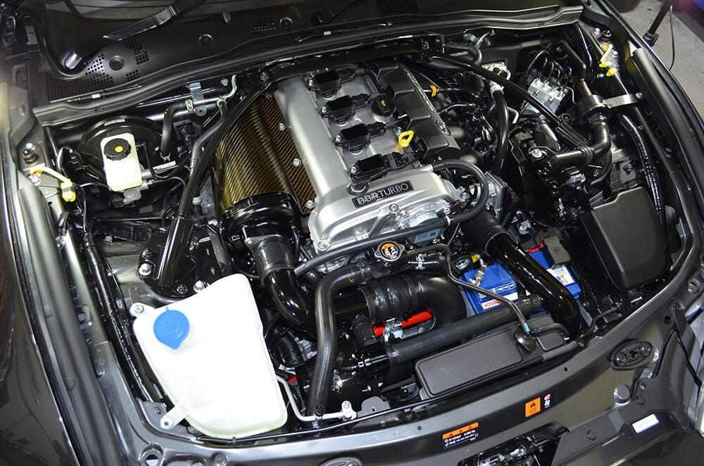 Motor del Mazda MX-5 2.0 BBR Turbo