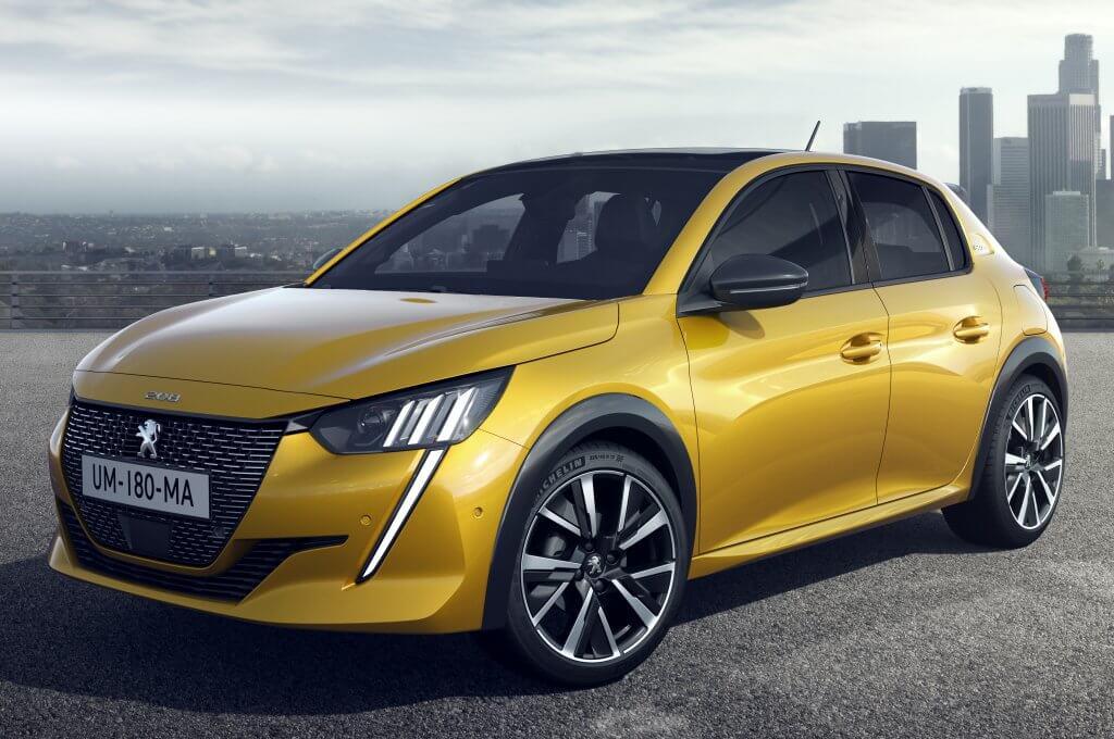 El nuevo Peugeot 208 2019 es un homenaje al 205 con versión eléctrica incluida