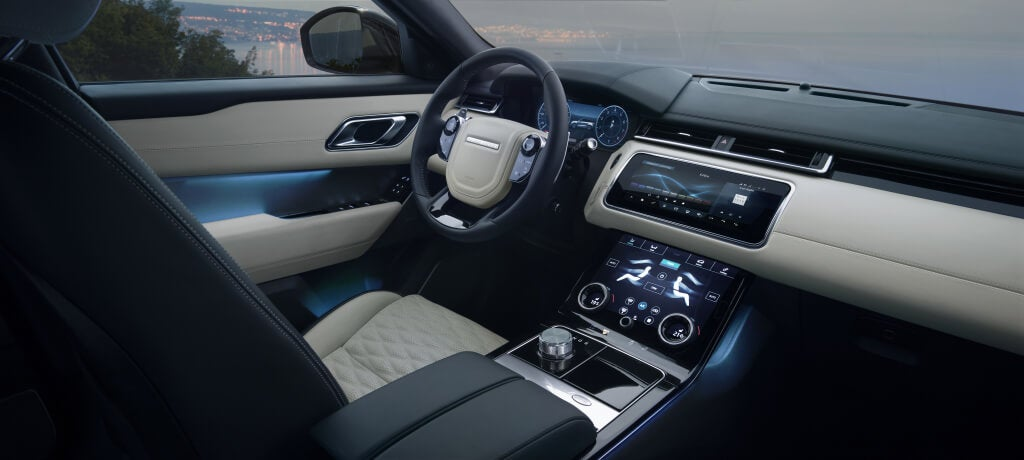 Habitáculo del Range Rover Velar SVAutobiography.
