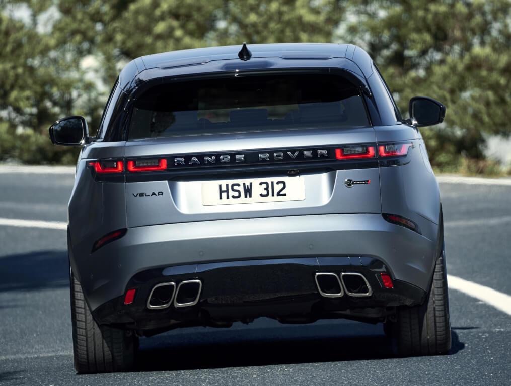 Zaga del Range Rover Velar SVAutobiography.