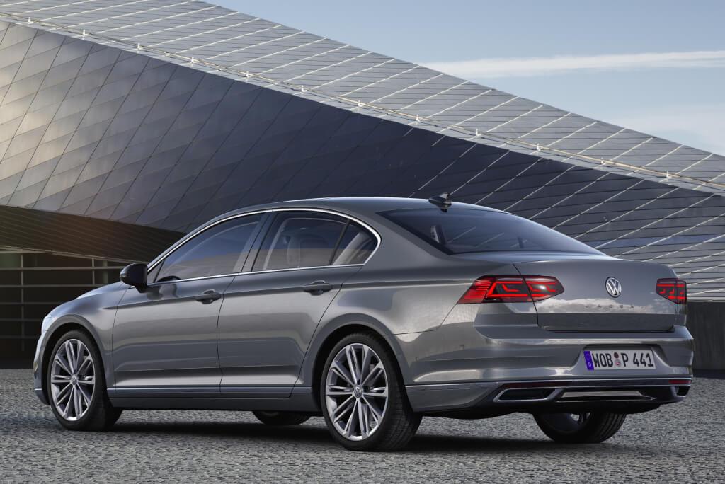 Zaga del Volkswagen Passat 2019.