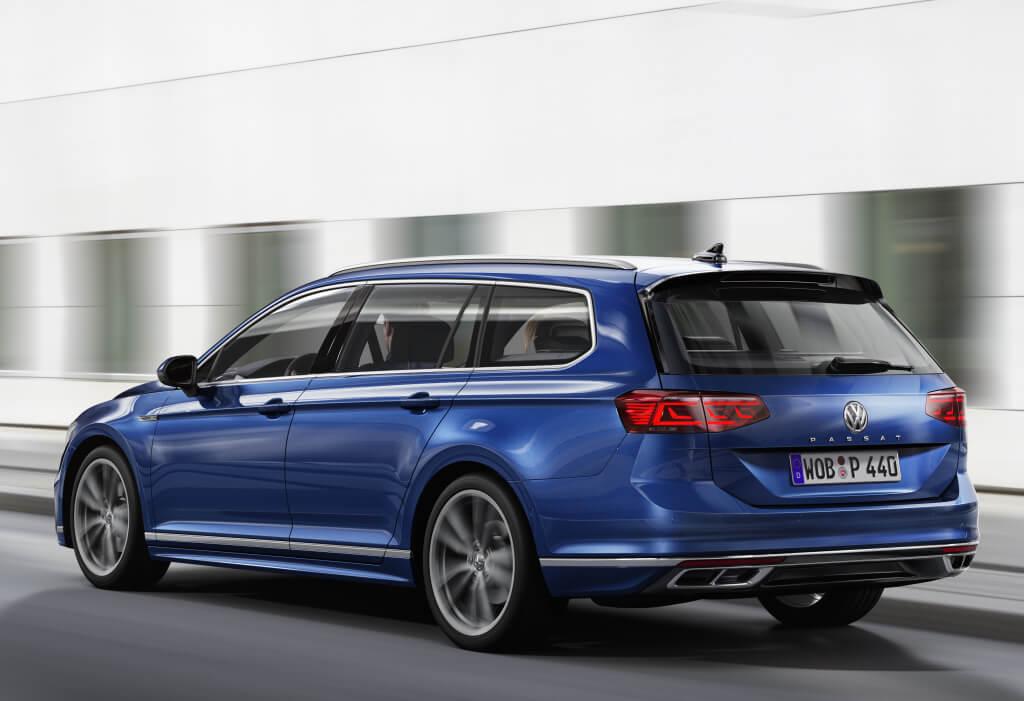 Volkswagen Passat Variant 2019: zaga.