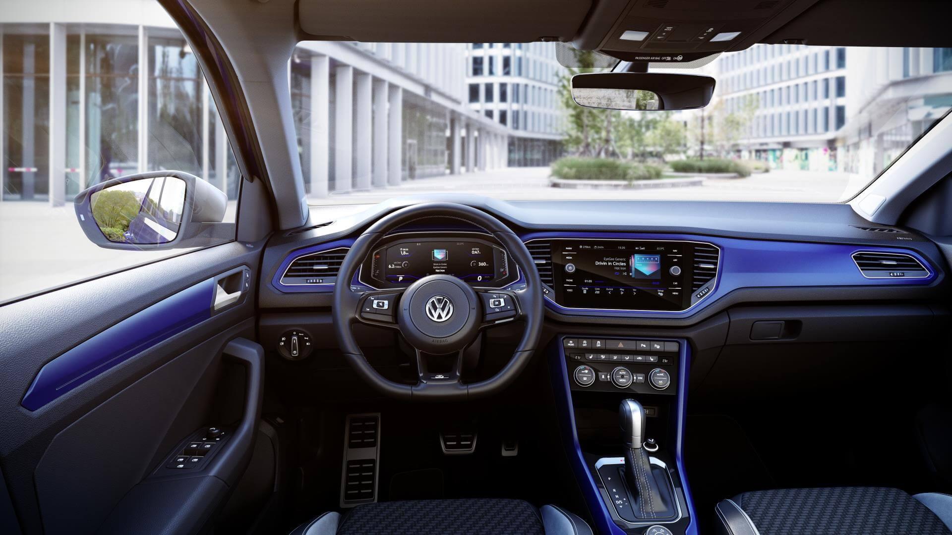 Volkswagen T-Roc R: interior