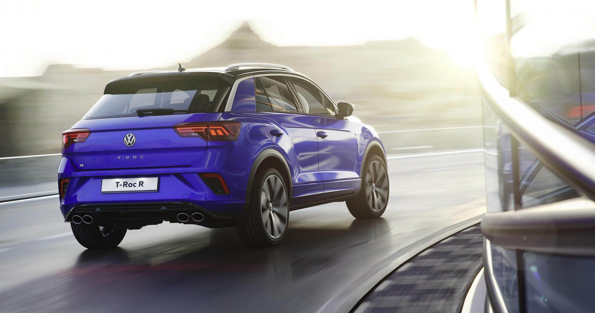 Volkswagen T-Roc R: trasera