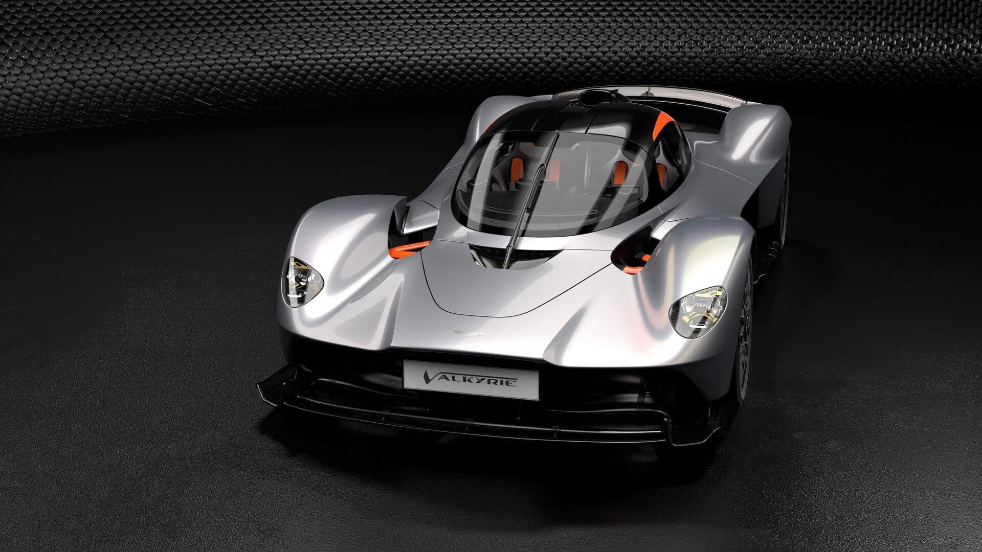 Aston Martin Vlakyrie: frontal.