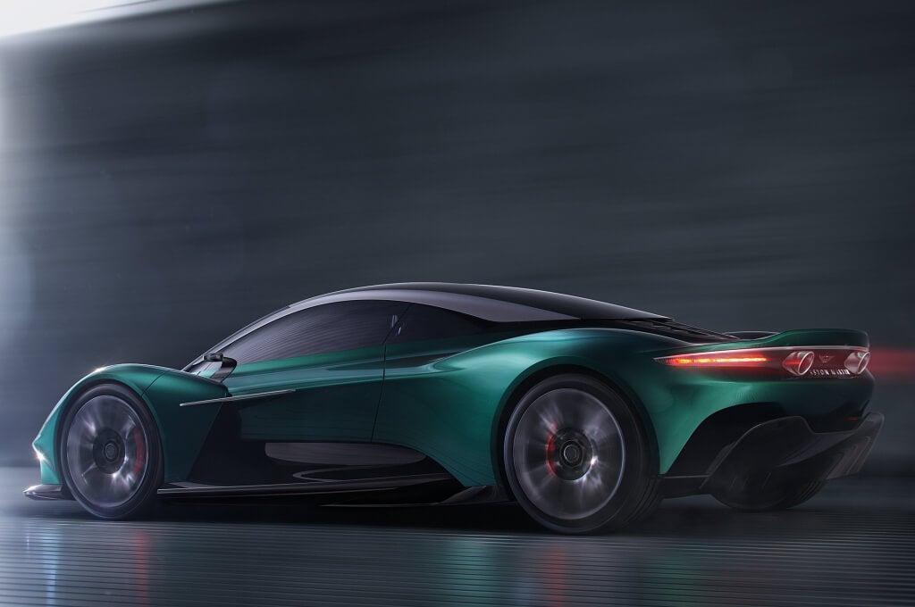 Aston Martin Vanquish Vision Concept: zaga.