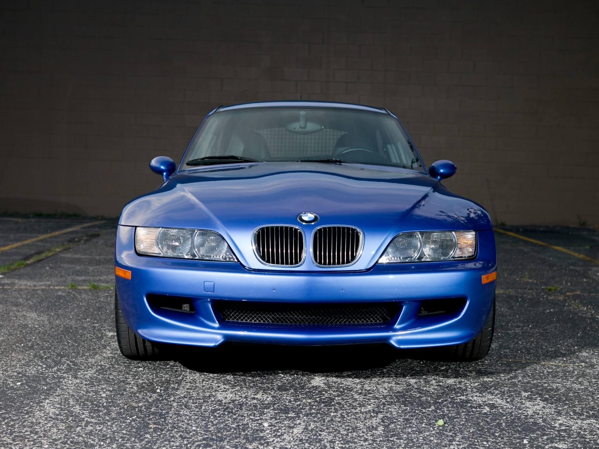 BMW Z3 Coupé: frontal