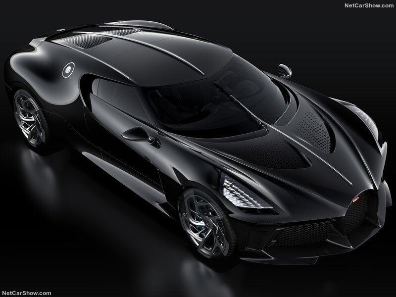 Bugatti La Voiture Noire, una única unidad por 16,7 millones