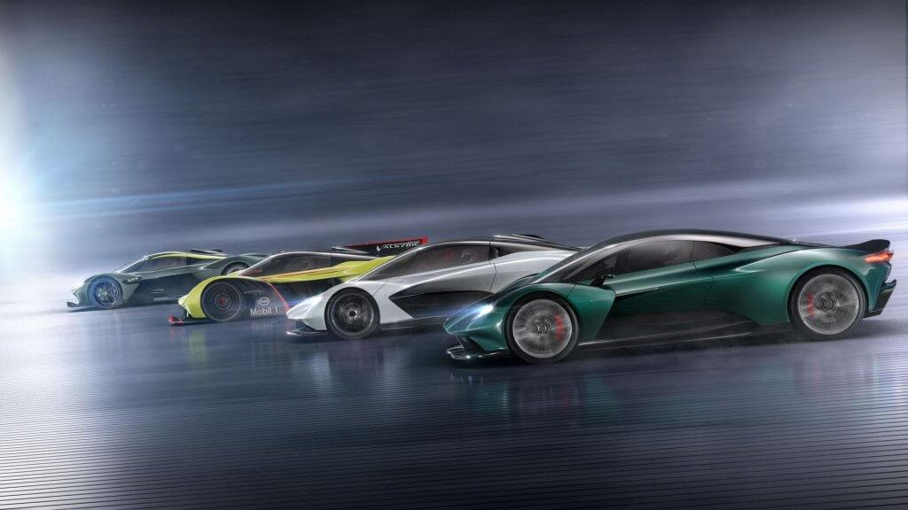 Conoce la futura ofensiva de deportivos británicos de Aston Martin