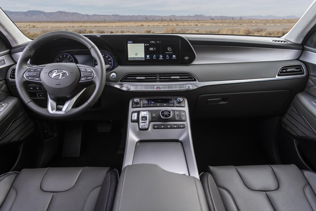Hyundai Palisade: interior.