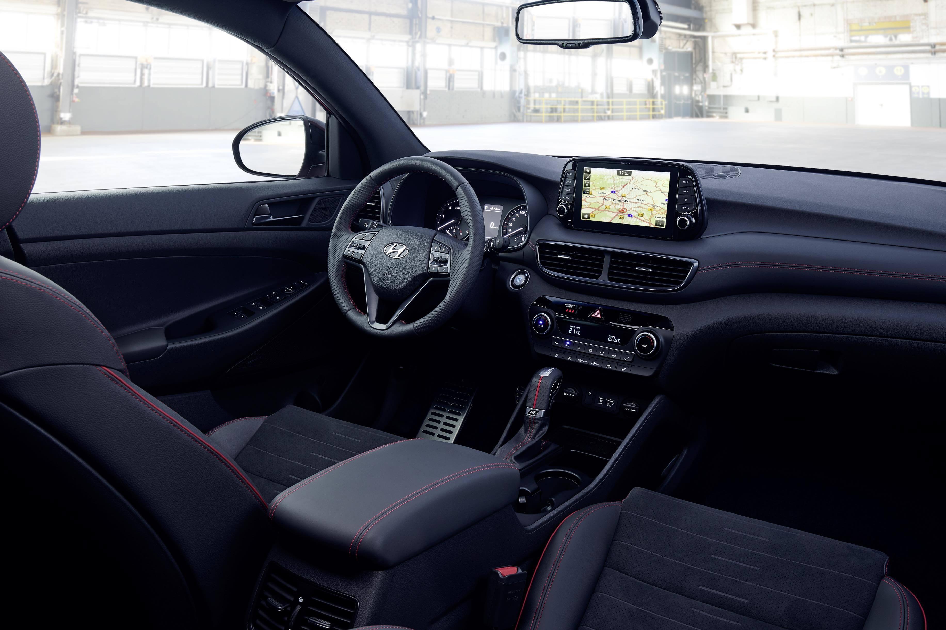 Hyundai Tucson N-Line: interior