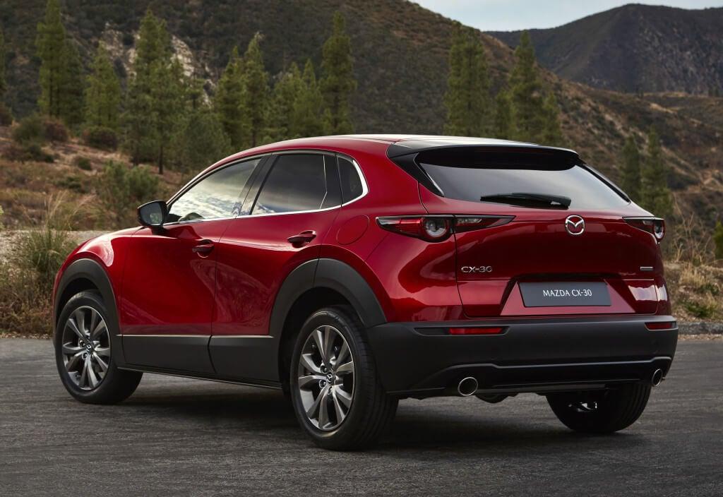 Mazda CX-30: zaga.