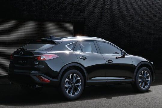 Mazda CX-4: zaga.