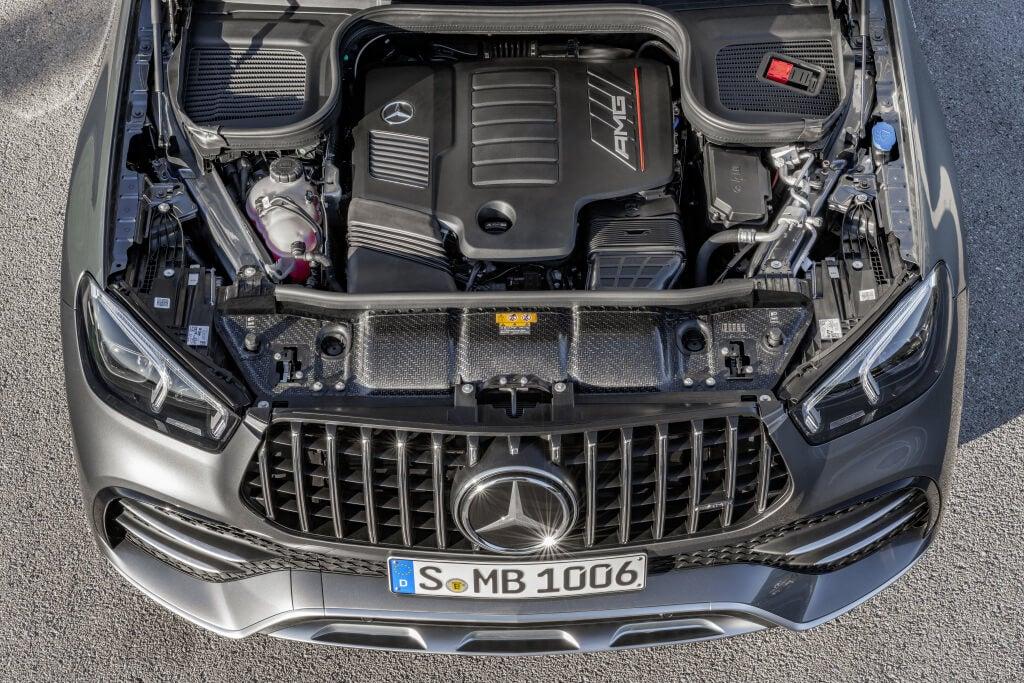 Mercedes-AMG GLE 53 4MATIC+: motor.
