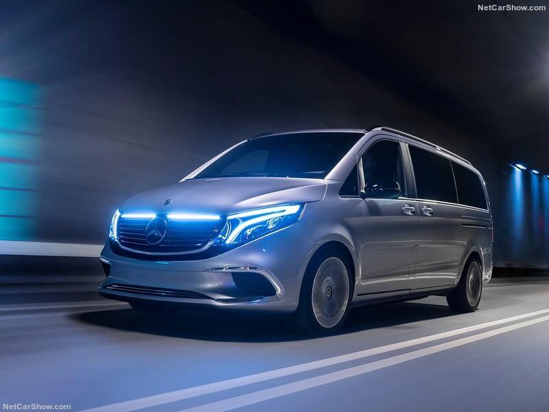 Mercedes EQV, lujo y silencio para la familia