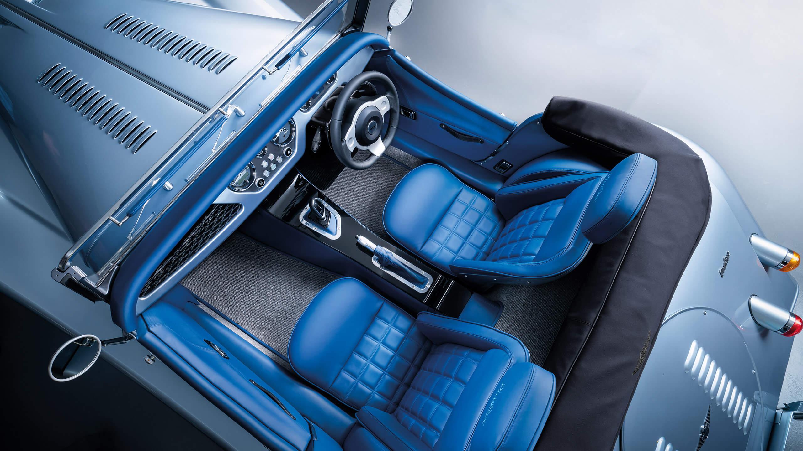 Morgan Plus Six: interior