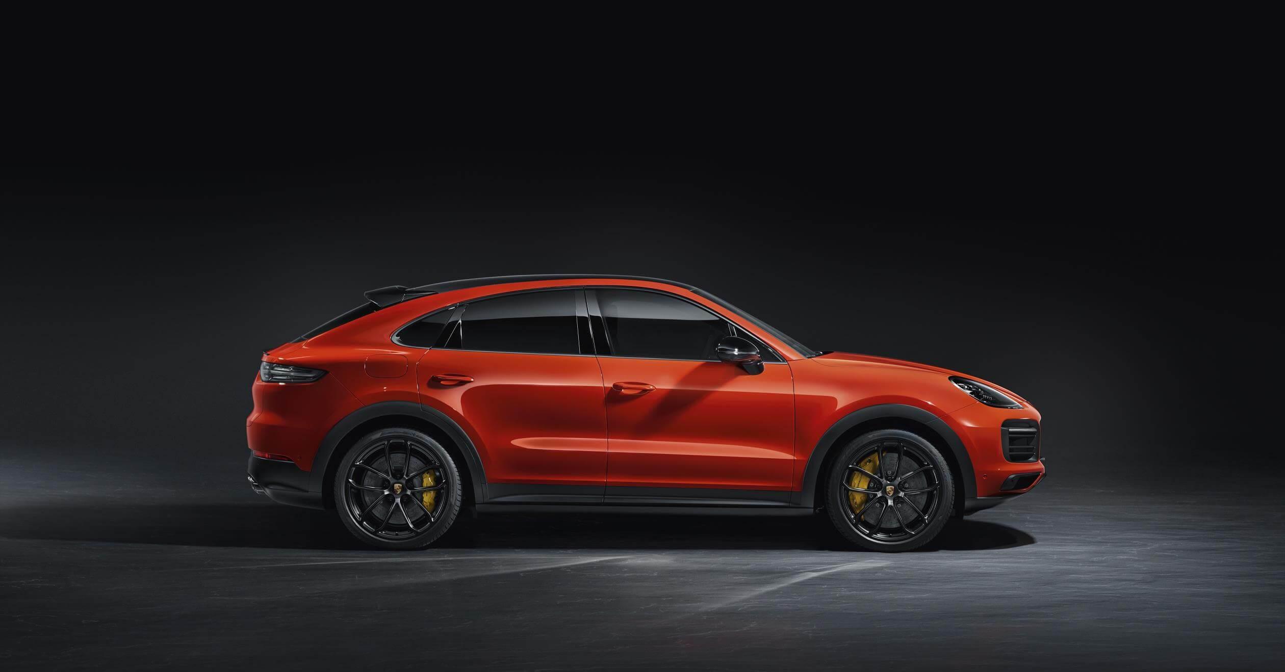 Porsche Cayenne Coupé: lateral