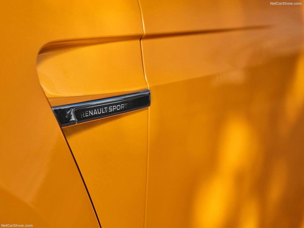 Renault Megane RS, salida de ventilación.
