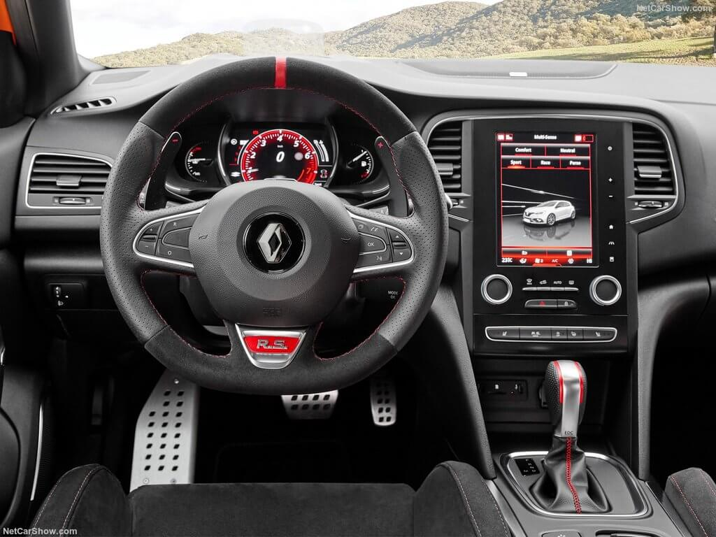 Renault Megane RS, interior.