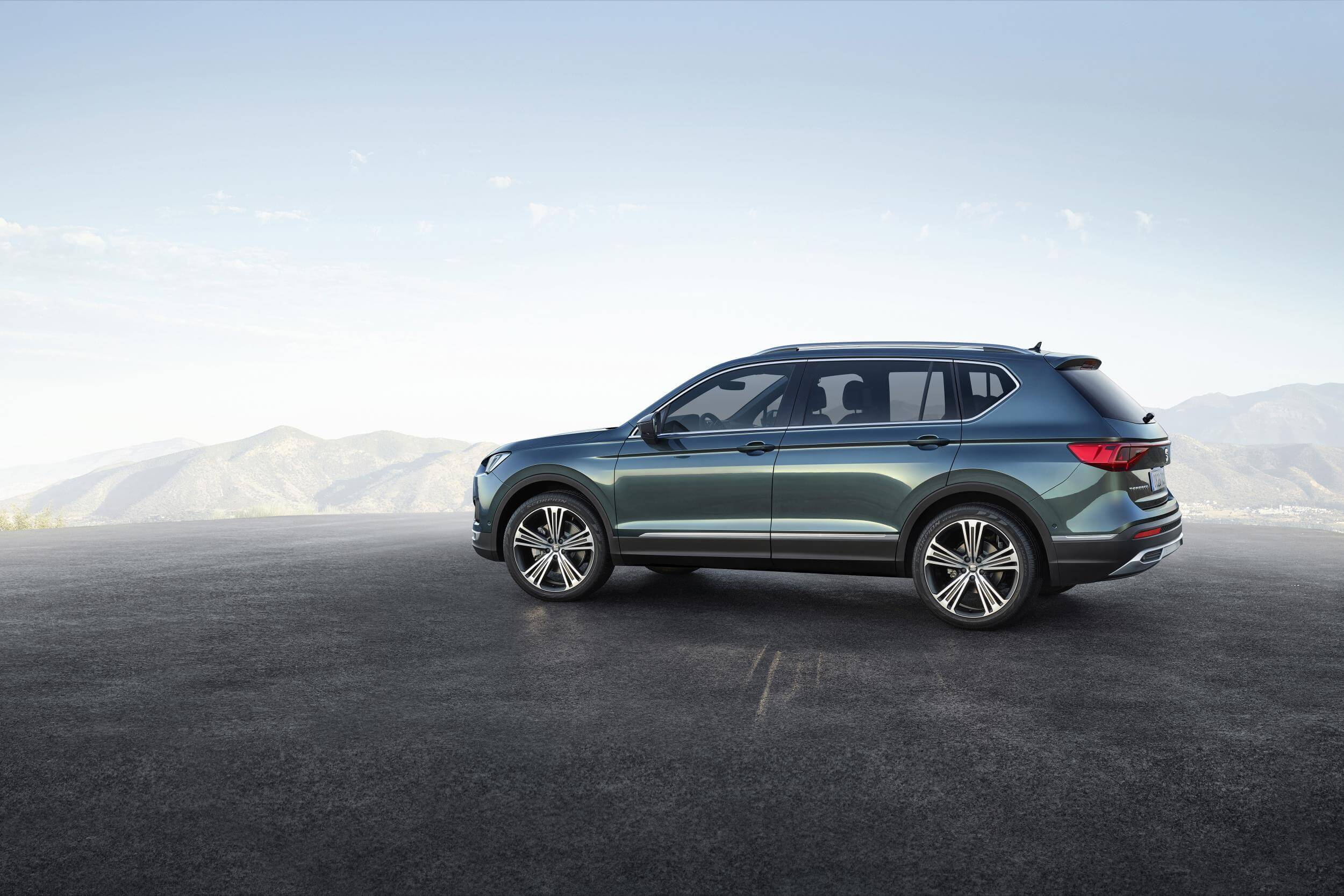 SEAT Tarraco: lateral