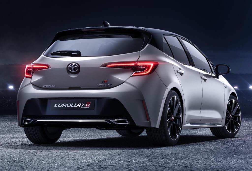 Toyota Corolla GR Sport: trasera.