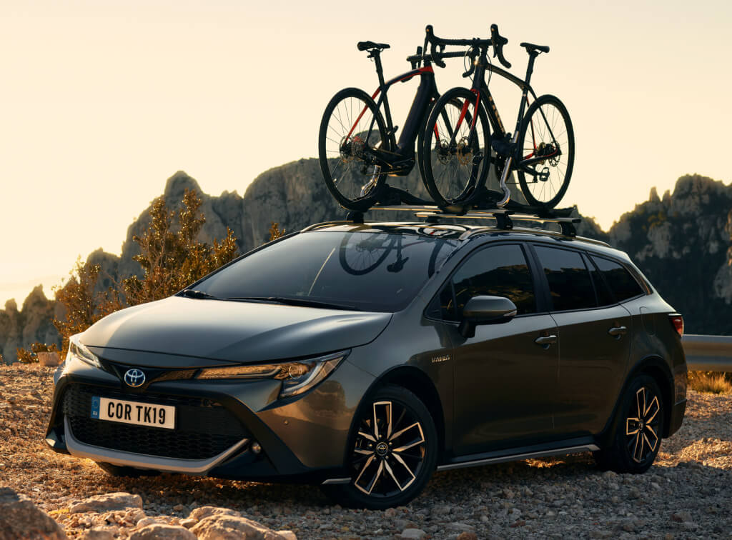 Toyota Corolla Trek: frontal.