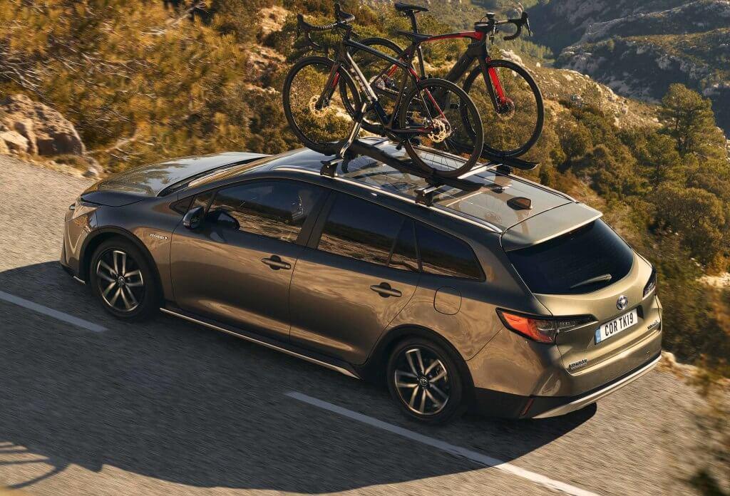 Toyota Corolla Trek: zaga