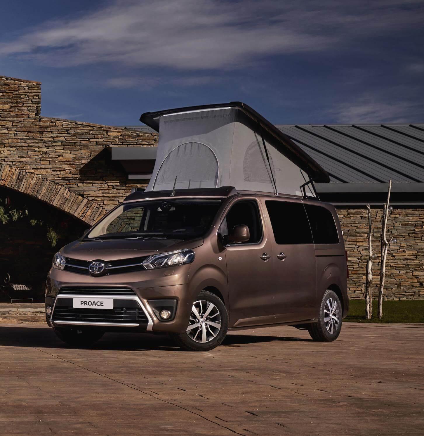 Toyota Proace Verso Camper, todo un capricho