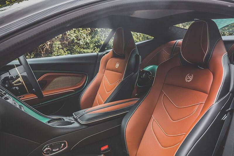 Aston Martin DBS 59: interior