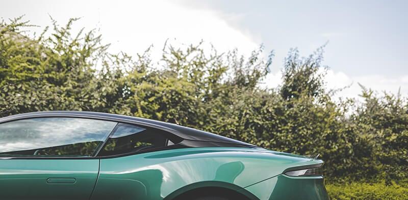Aston Martin DBS 59: lateral