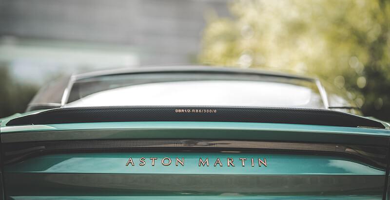 Aston Martin DBS 59: trasera