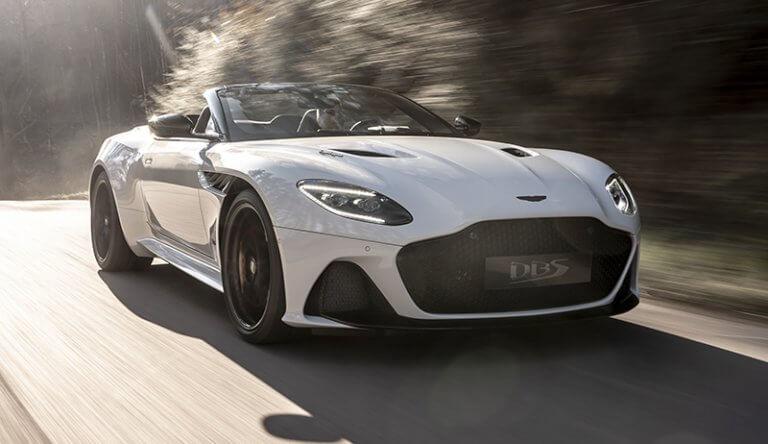 Aston Martin DBS Superleggera Volante, elegancia a cielo descubierto