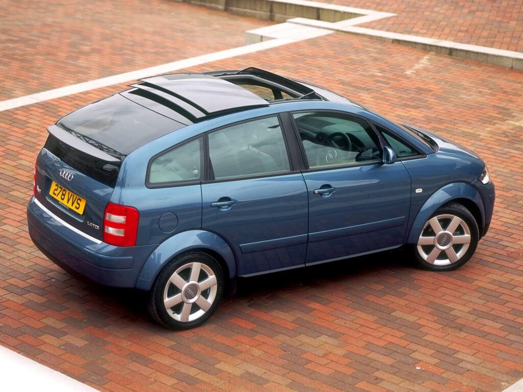 Audi A2: zaga.