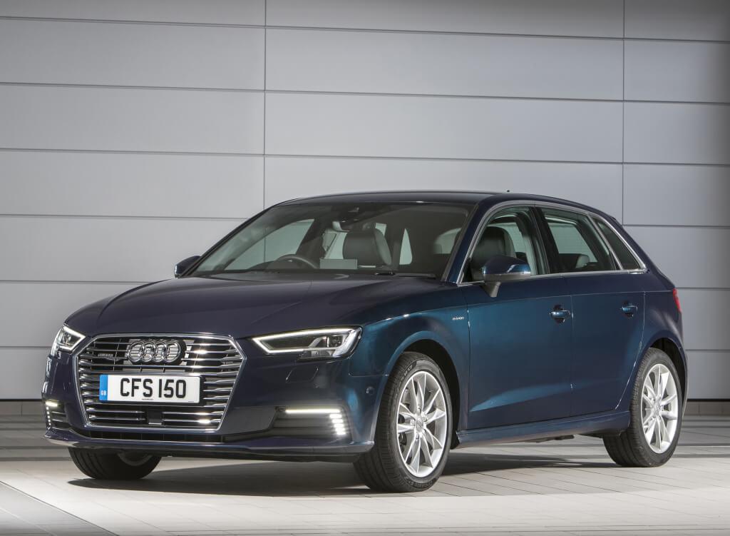 Audi A3 Sportback e-tron: frontal.