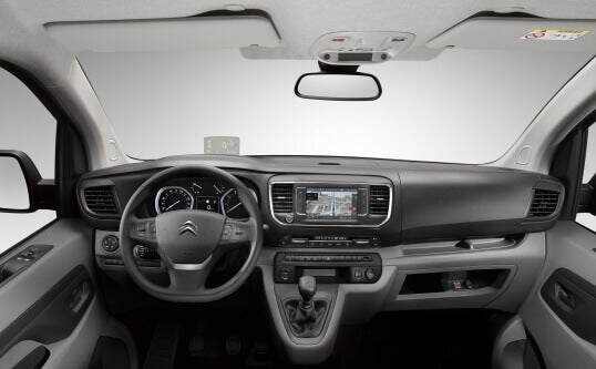 Citroën Jumpy, diseño interior.