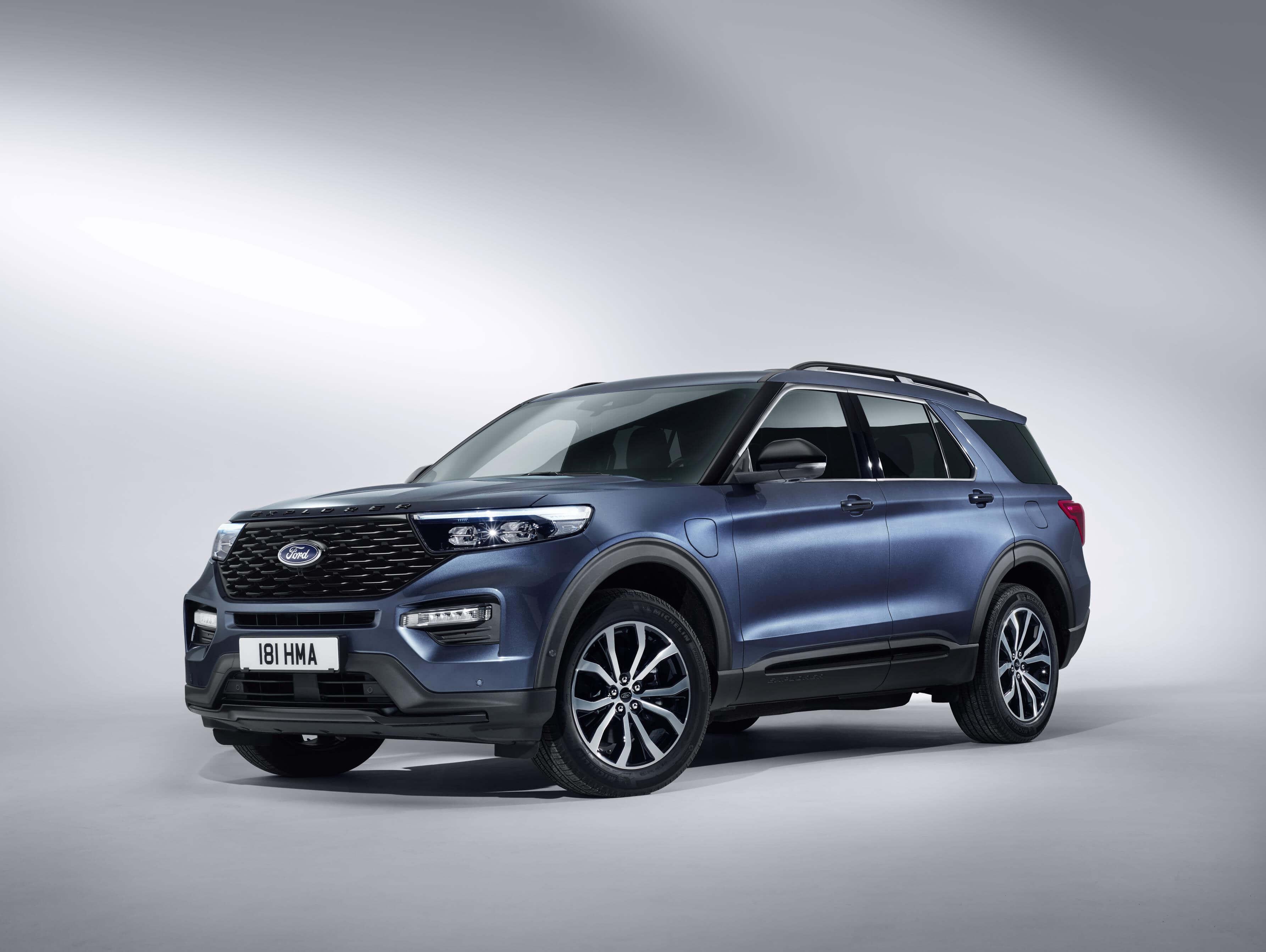 El Ford Explorer 2019 llegará a Europa como híbrido enchufable