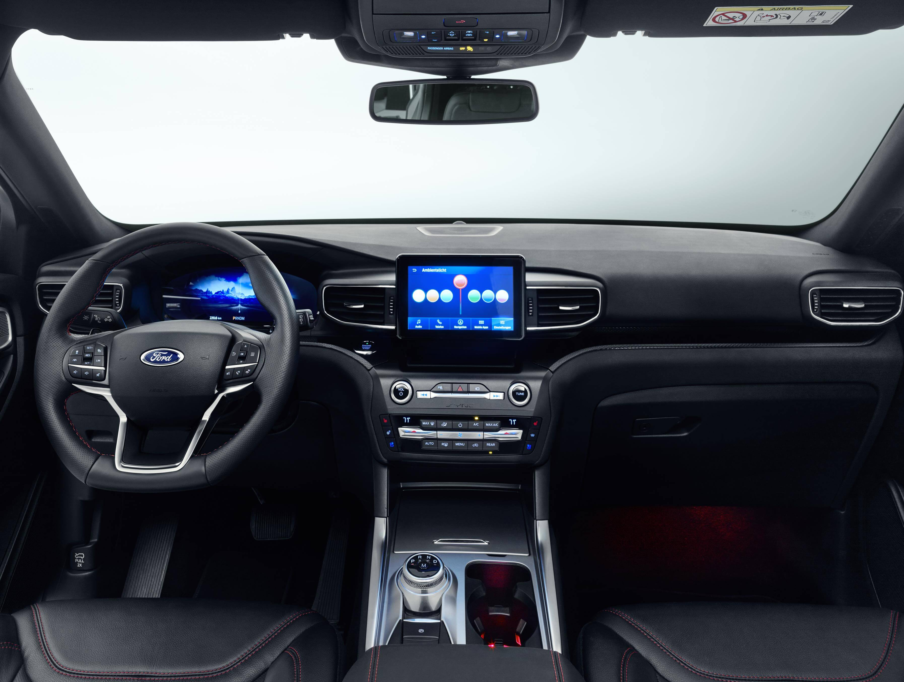 Ford Explorer 2019: interior