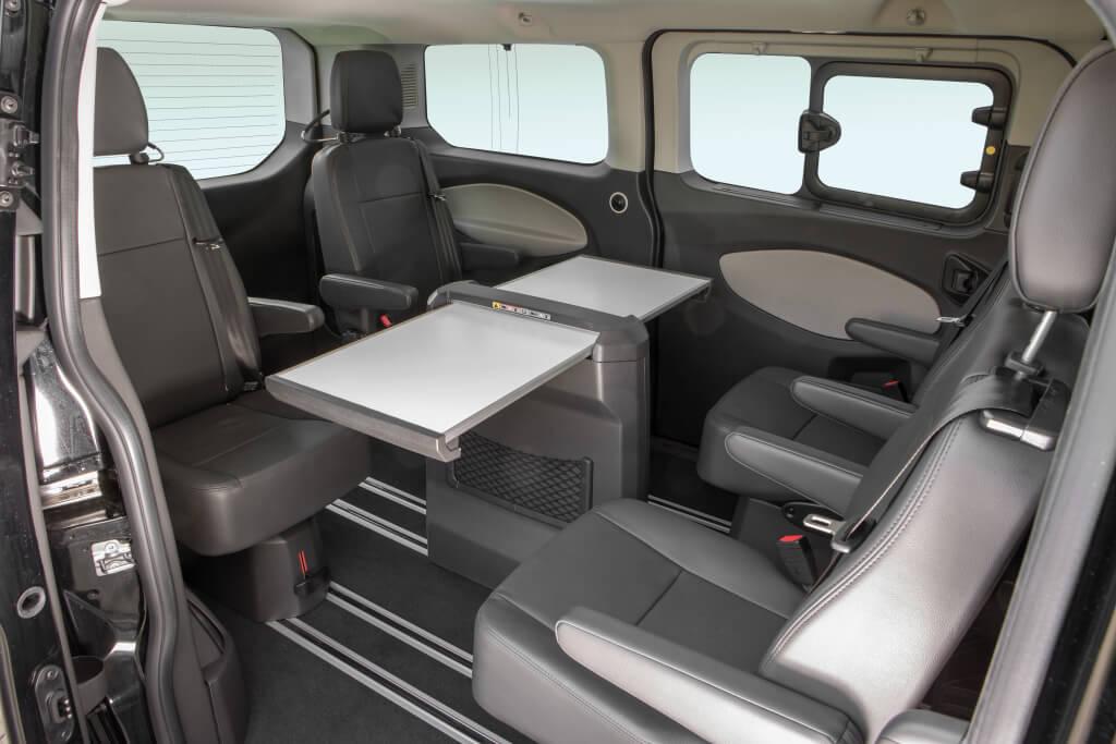 Ford Tourneo Custom híbrido.
