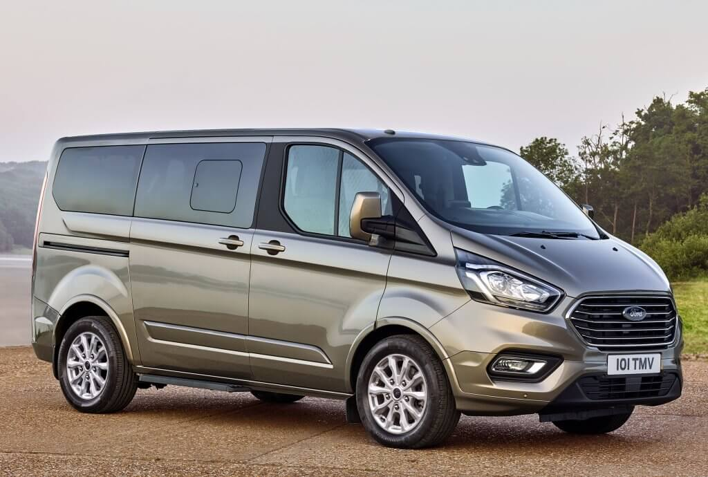 Ford Tourneo Custom híbrido enchufable