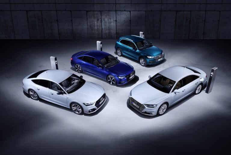 Conoce la nueva gama de híbridos enchufables de Audi, los TFSI e